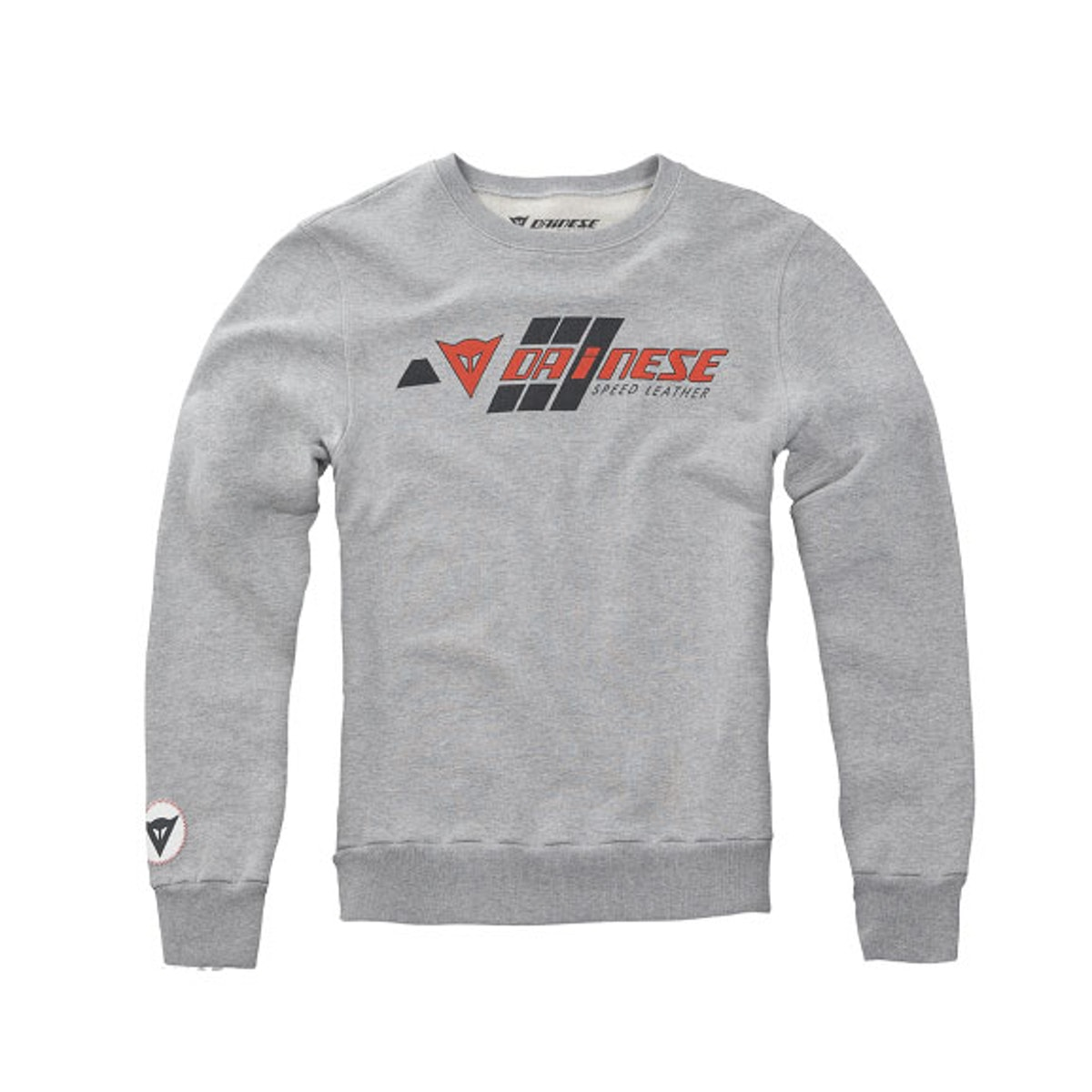 Dainese Felpa Speed Leather crew neck sweatshirt