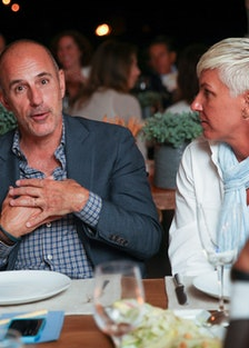 Matt Lauer and Stacey Griffith