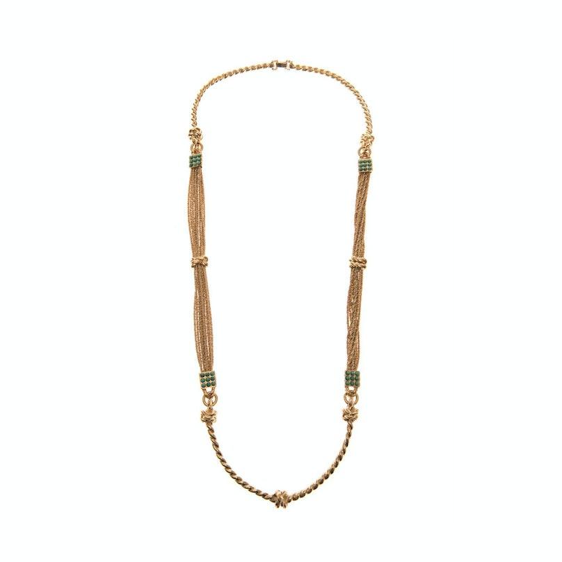 Aurelie Bidermann necklace