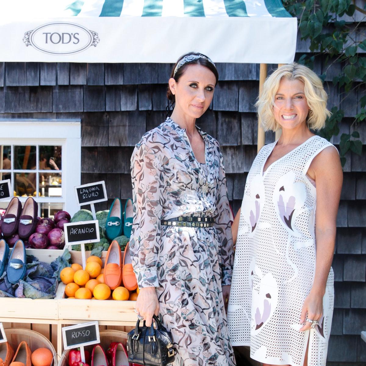 Alessandra Facchinetti and Jessica Seinfeld. Photo by bfanyc.com.