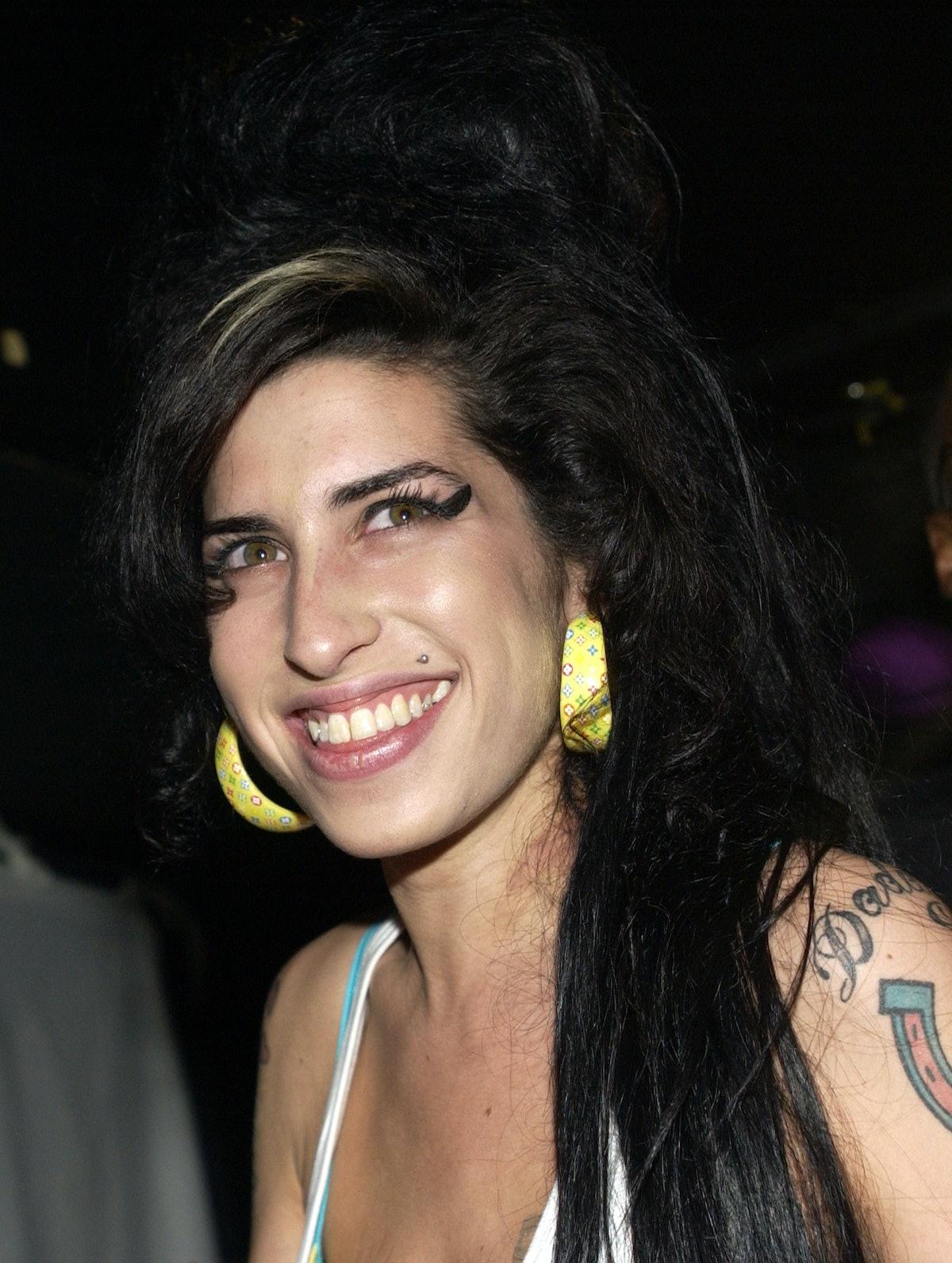 Amy Winehouse Style Earrings