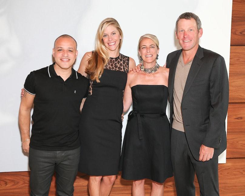 Dzine, Anna Hansen, Heidi Zuckerman, and Lance Armstrong