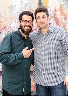Jose Parla and Jason Biggs