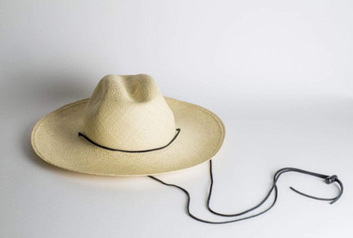 Brookes Boswell Boro Panama Straw Hat,