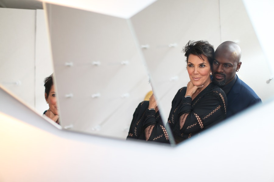 Kris Jenner and Corey Gamble