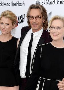 Mamie Gummer, Rick Springfield, and Meryl Streep