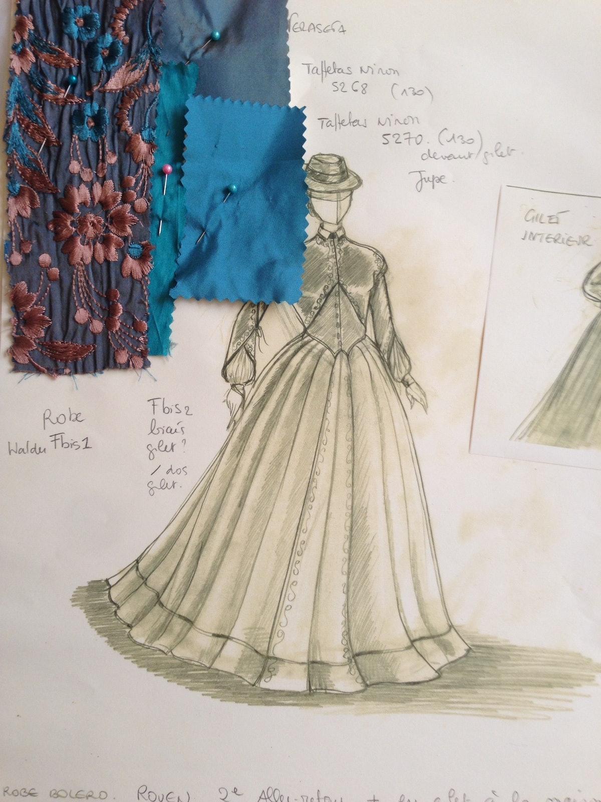 Madam Bovary Costumes