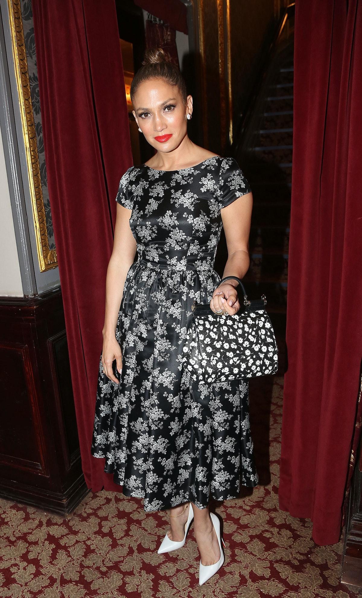 Jennifer Lopez in Dolce & Gabbana