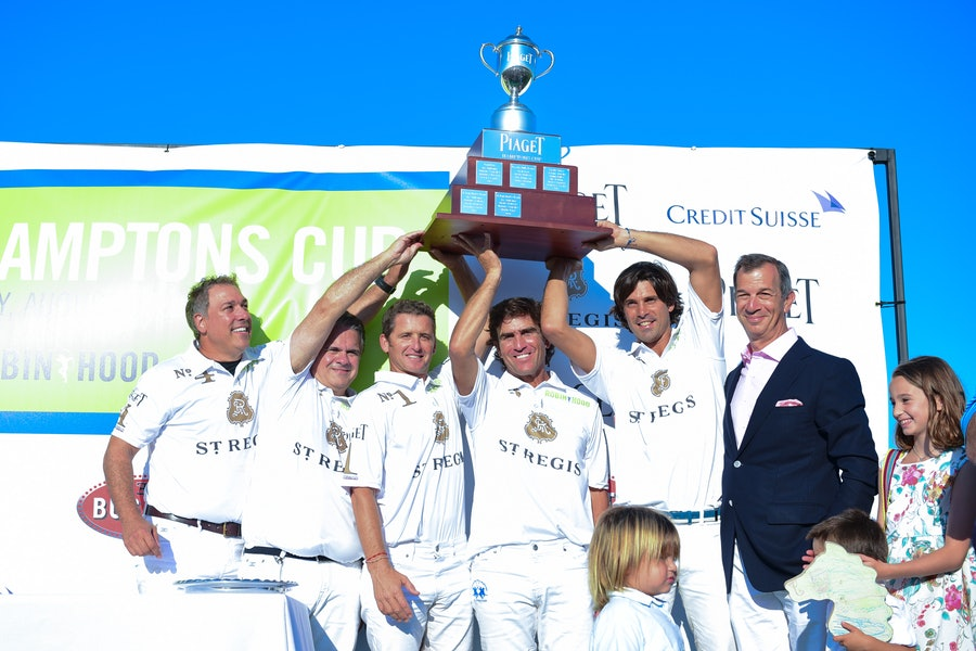 Joe DiMenna, Nacho Figueras, and Philippe Leopold Metzger.