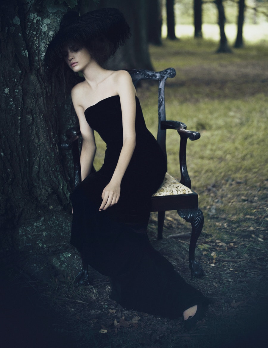 Dark Fashion Photography