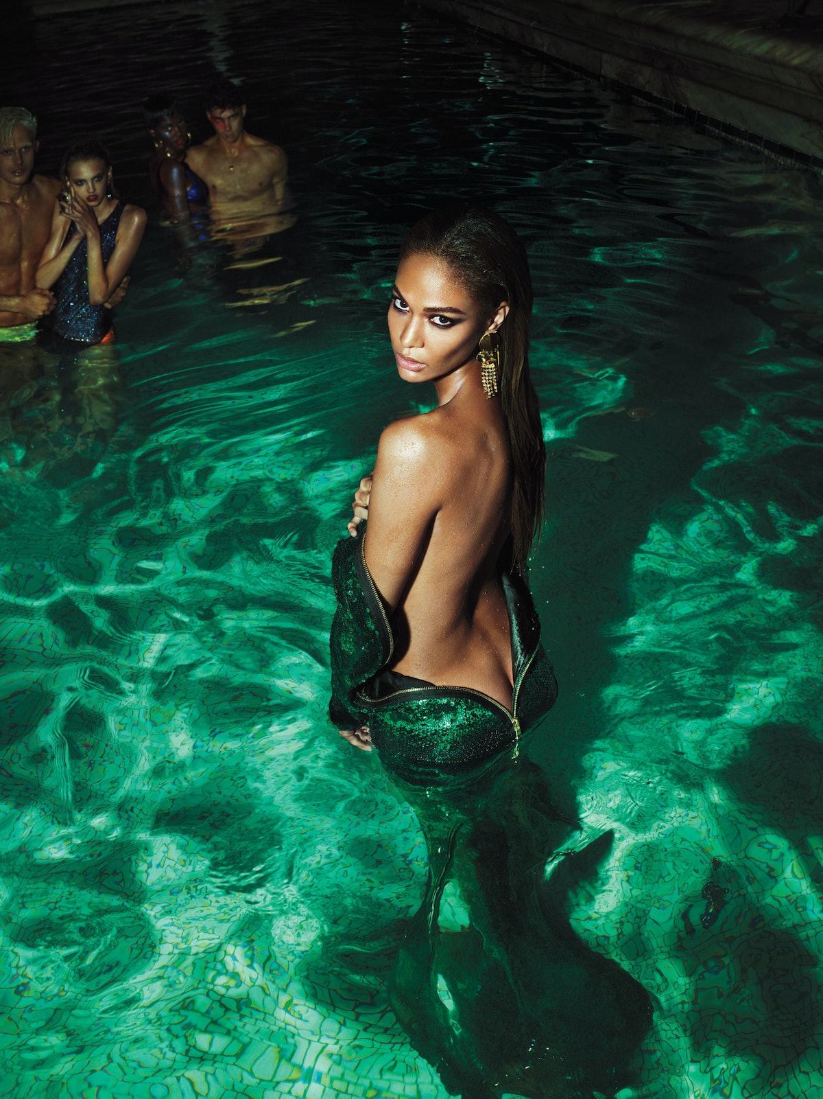 Joan Smalls in W Magazine
