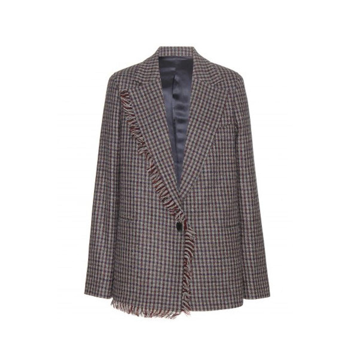 Acne Studios Remis check wool blazer