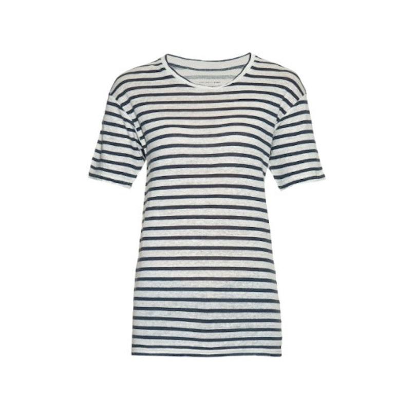 Isabel Marant Etoile Ken striped linen t-shirt
