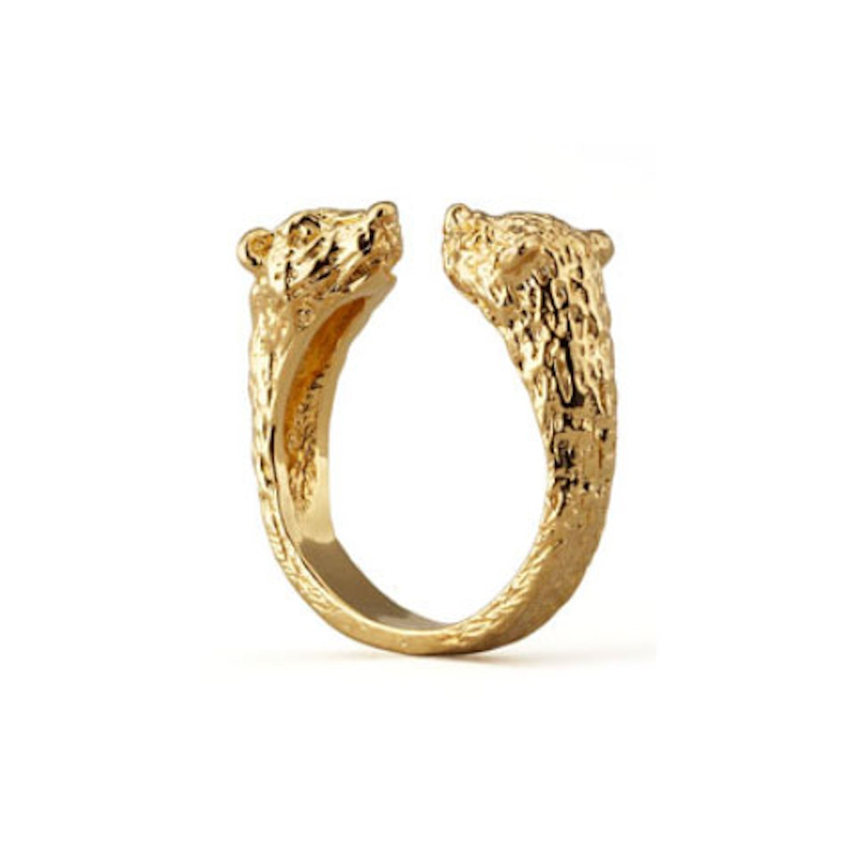 Pamela Love small bear ring in yellow gold