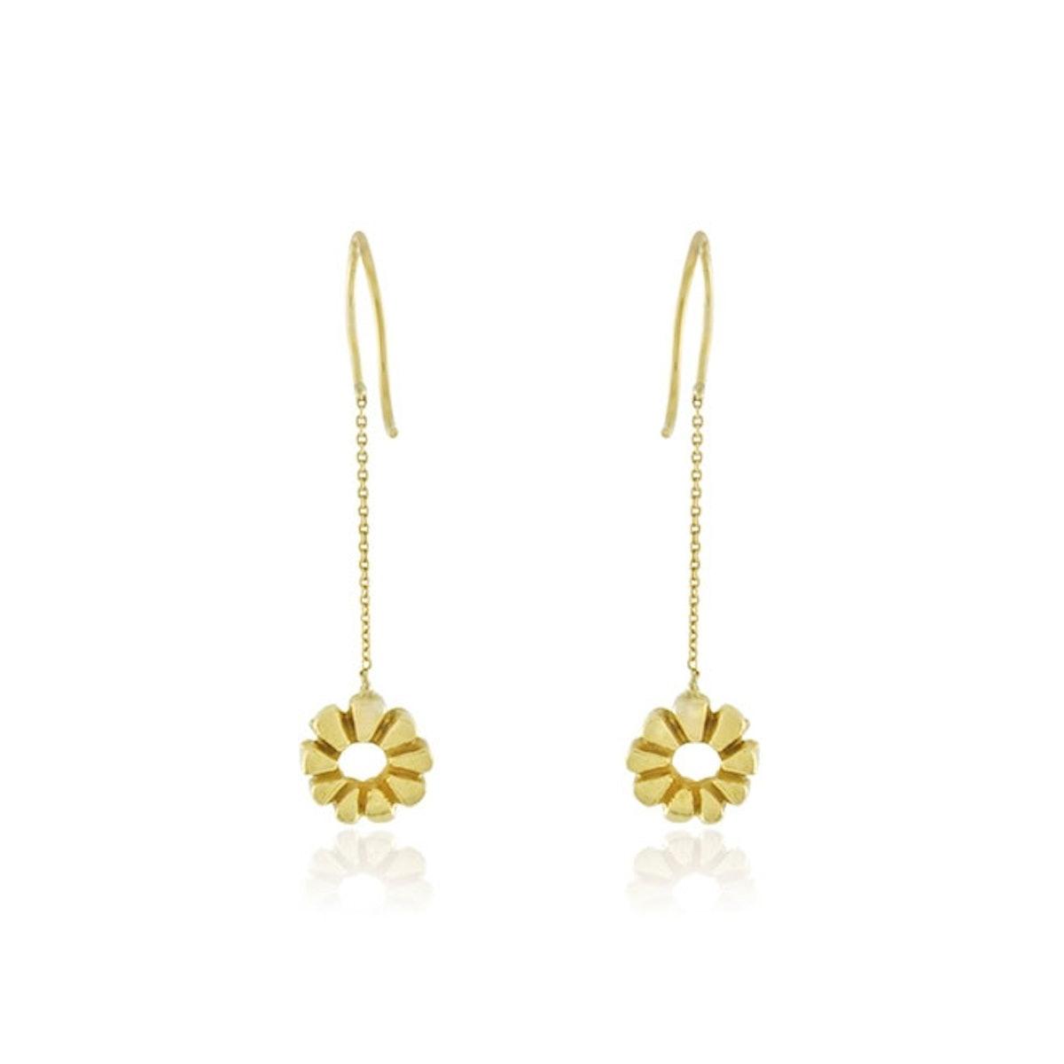 Elisa Solomon 18K gold earrings