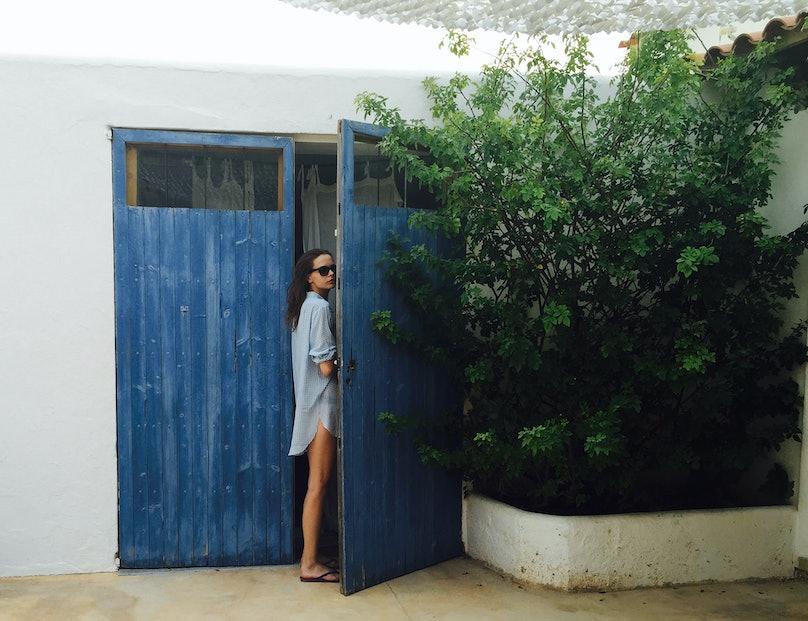 Model Mina Cvetkovic Hits Europe