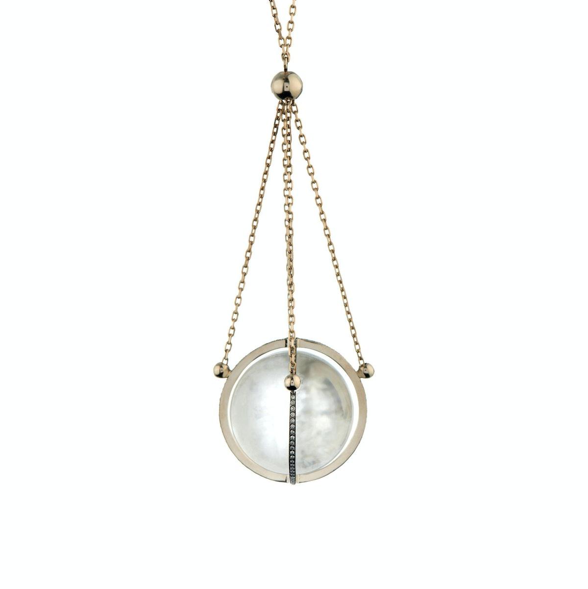 Noor Fares diamond necklace