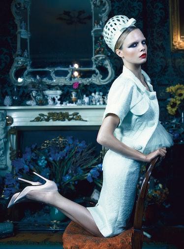 Cara Delevingne in W Magazine