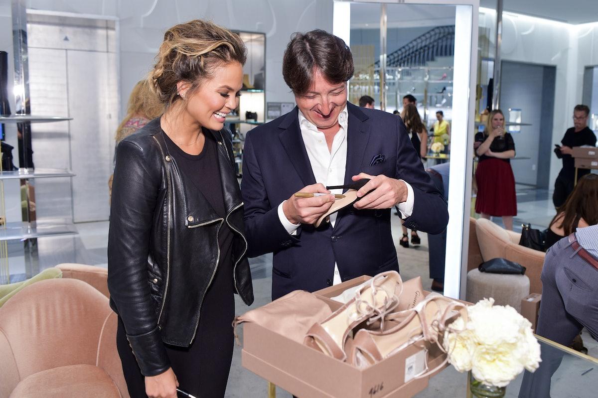 Barneys New York Fetes Shoe Designer Gianvito Rossi