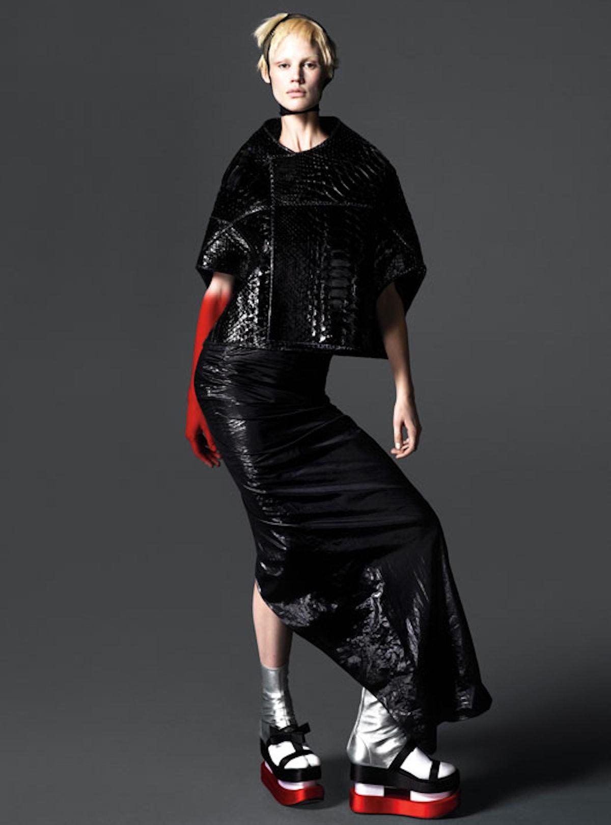 Leather fashion inspiration