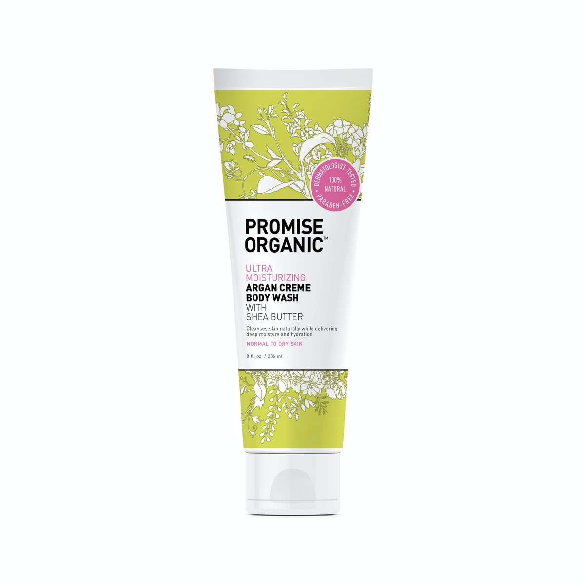 Promise Organic Ultra-Moisturizing Argan Crème Body Wash