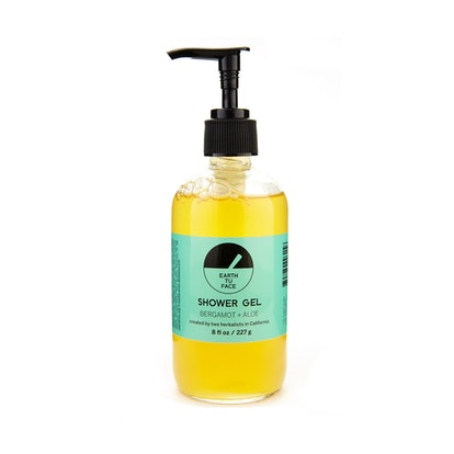Earth Tu Face Bergamot + Aloe Shower Gel