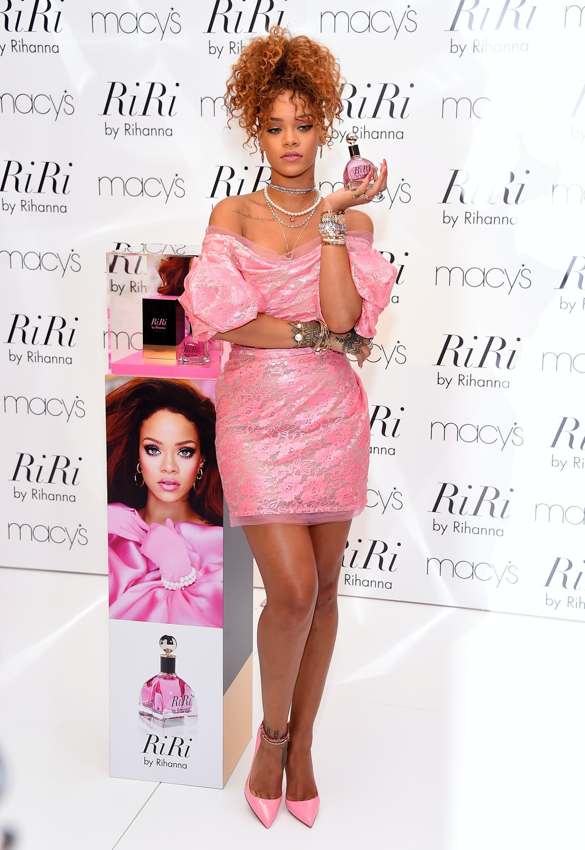 Rihanna in Vivienne Westwood Red Label