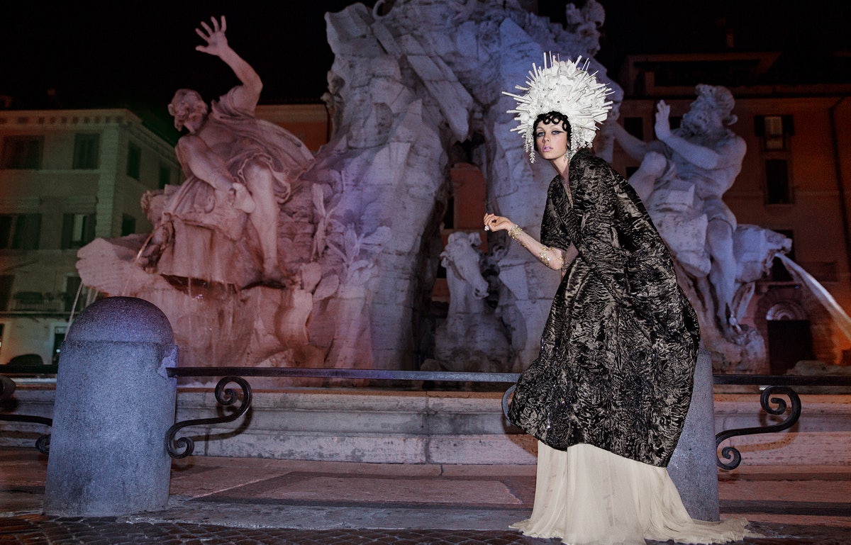 Rome, Edie Campbell