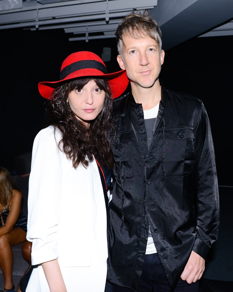Irina Lazareanu and Jefferson Hack