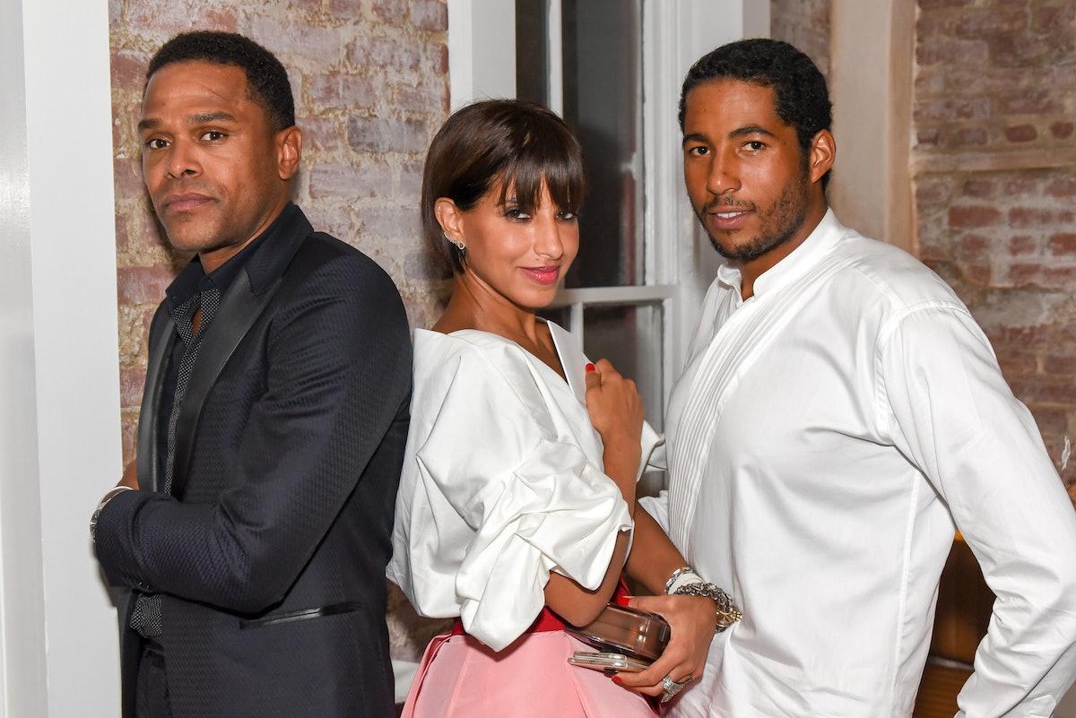 Maxwell, Princess Deena Aljuhani Abdulaziz, and Hassan Pierre