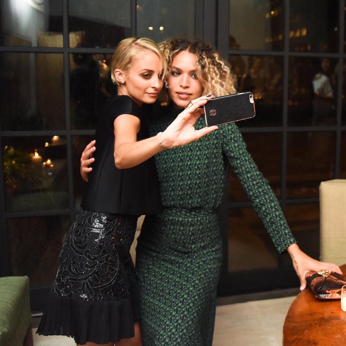 Nicole Richie and Cleo Wade
