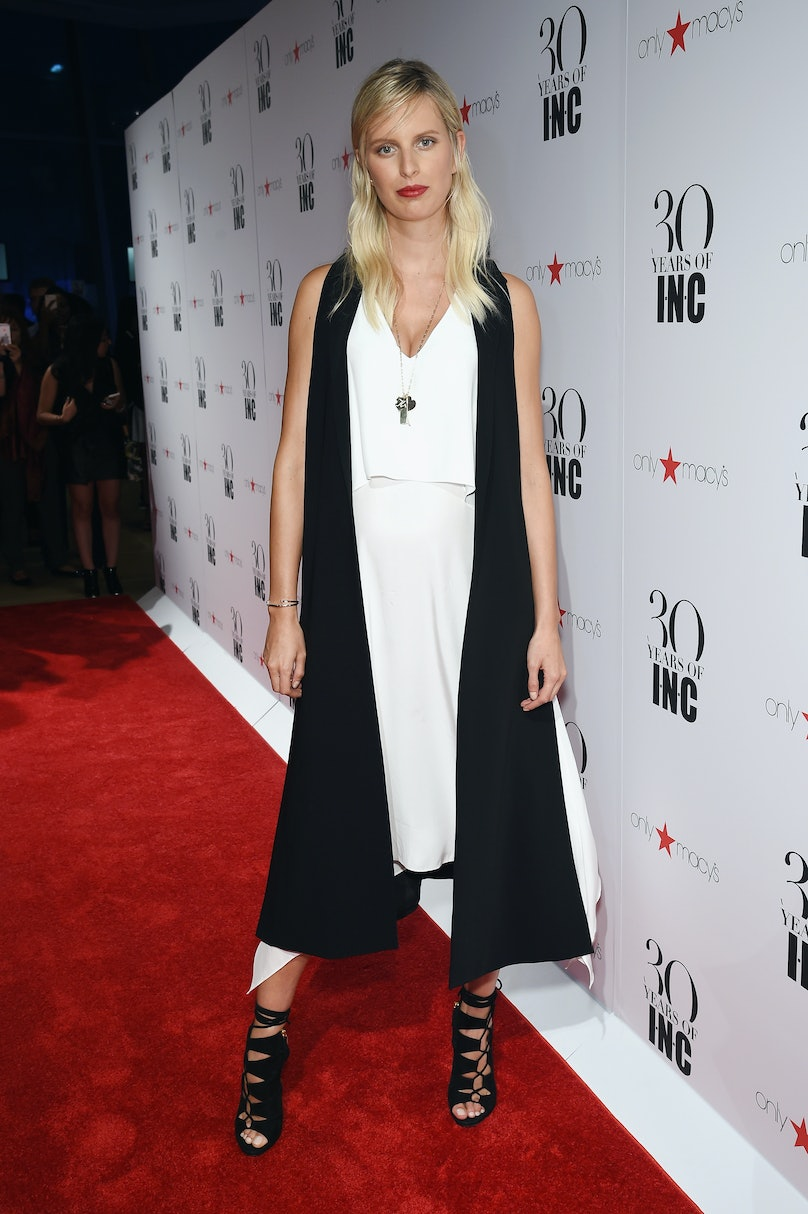 Karolina Kurkova attends Heidi Klum + Gabriel Aubry's celebration of the launch of INC's 30th Anniversary Collection