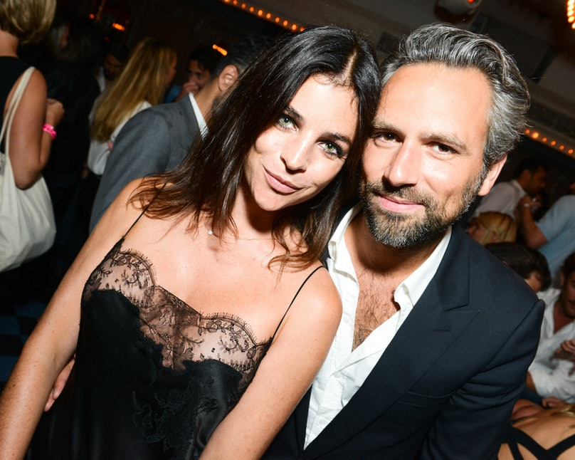 Julia Restoin Roitfeld and Olivier van Themsche