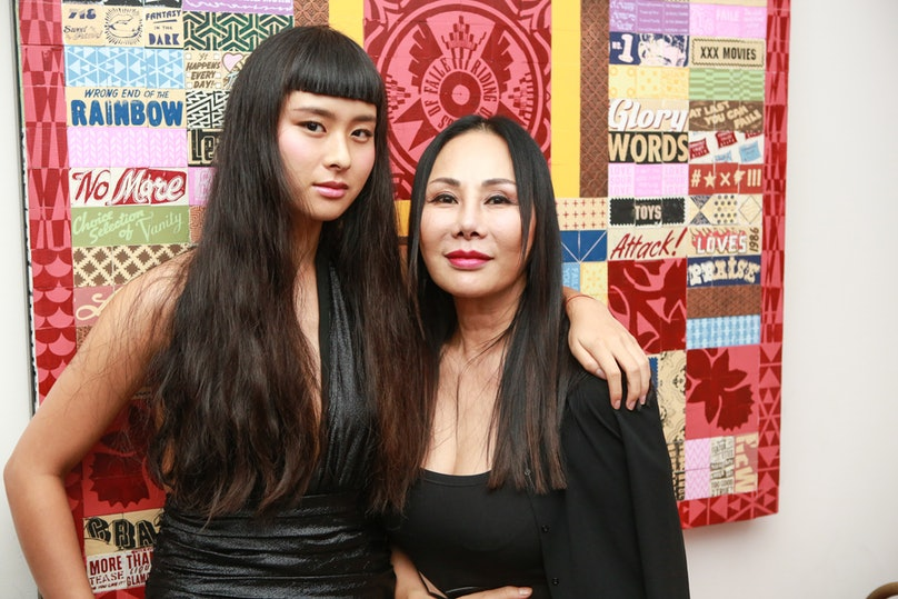 Asia Chow and Eva Chow