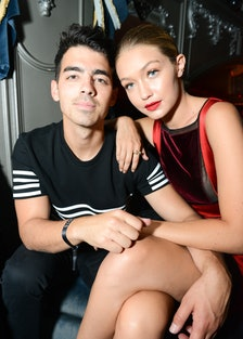 Joe Jonas and Gigi Hadid