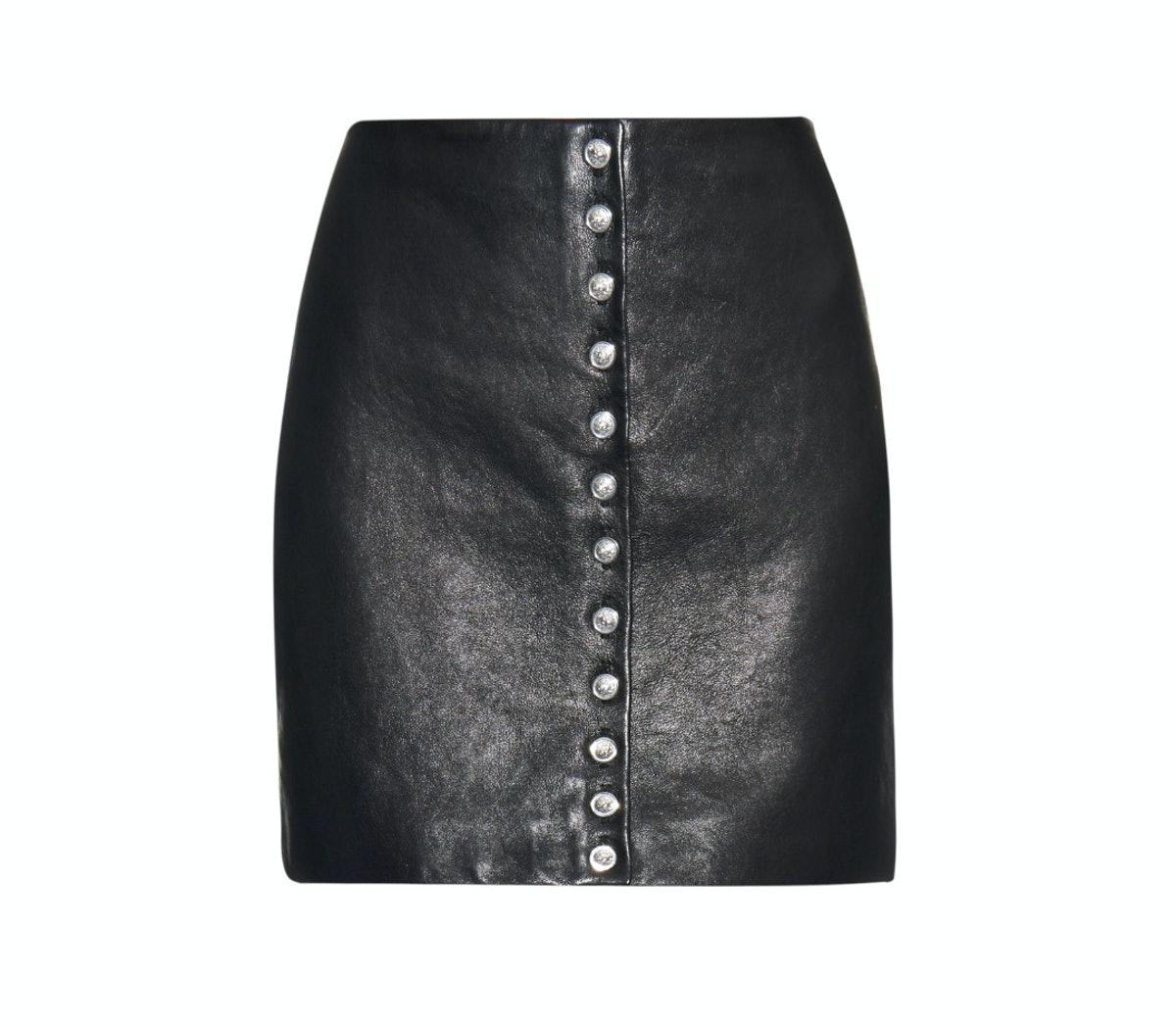Versus leather skirt