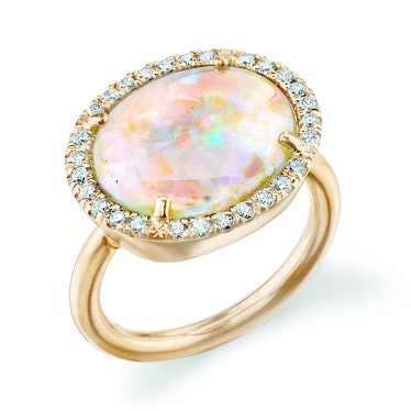 Irene Neuwirth gold and opal ring