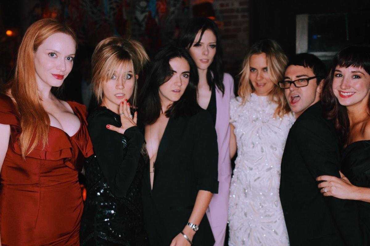 Christina Hendricks, Fuhrman, Christian Siriano, Coco Rocha, and Alicia Silverstone