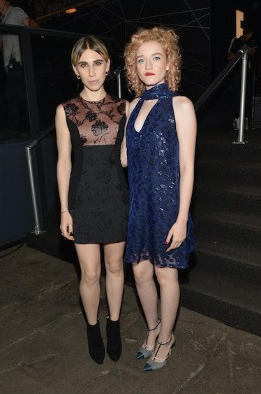 Zosia Mamet and Julia Garner.