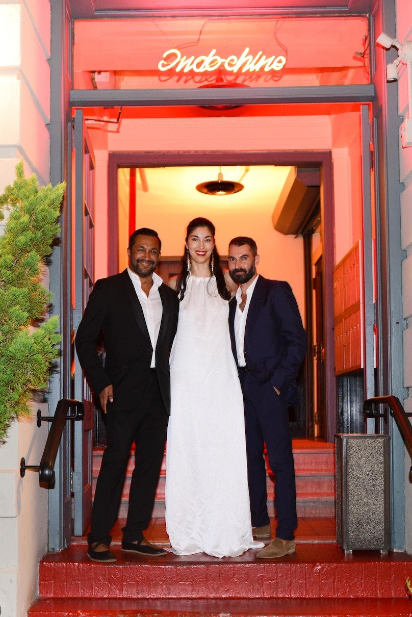 Ryan Lobo, Caroline Issa, and Ramon Martin