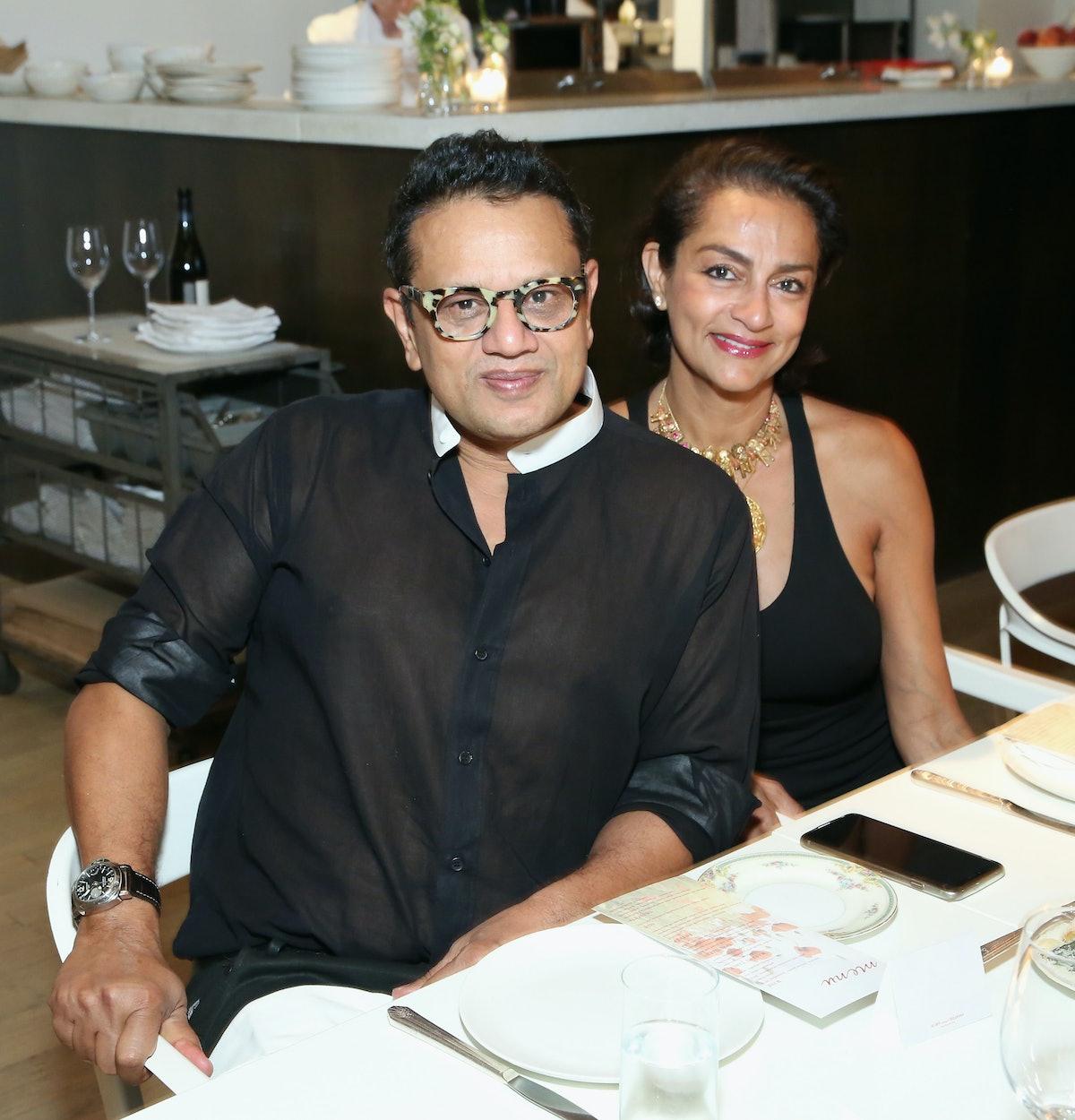 Naeem Khan and Ranjana Khan