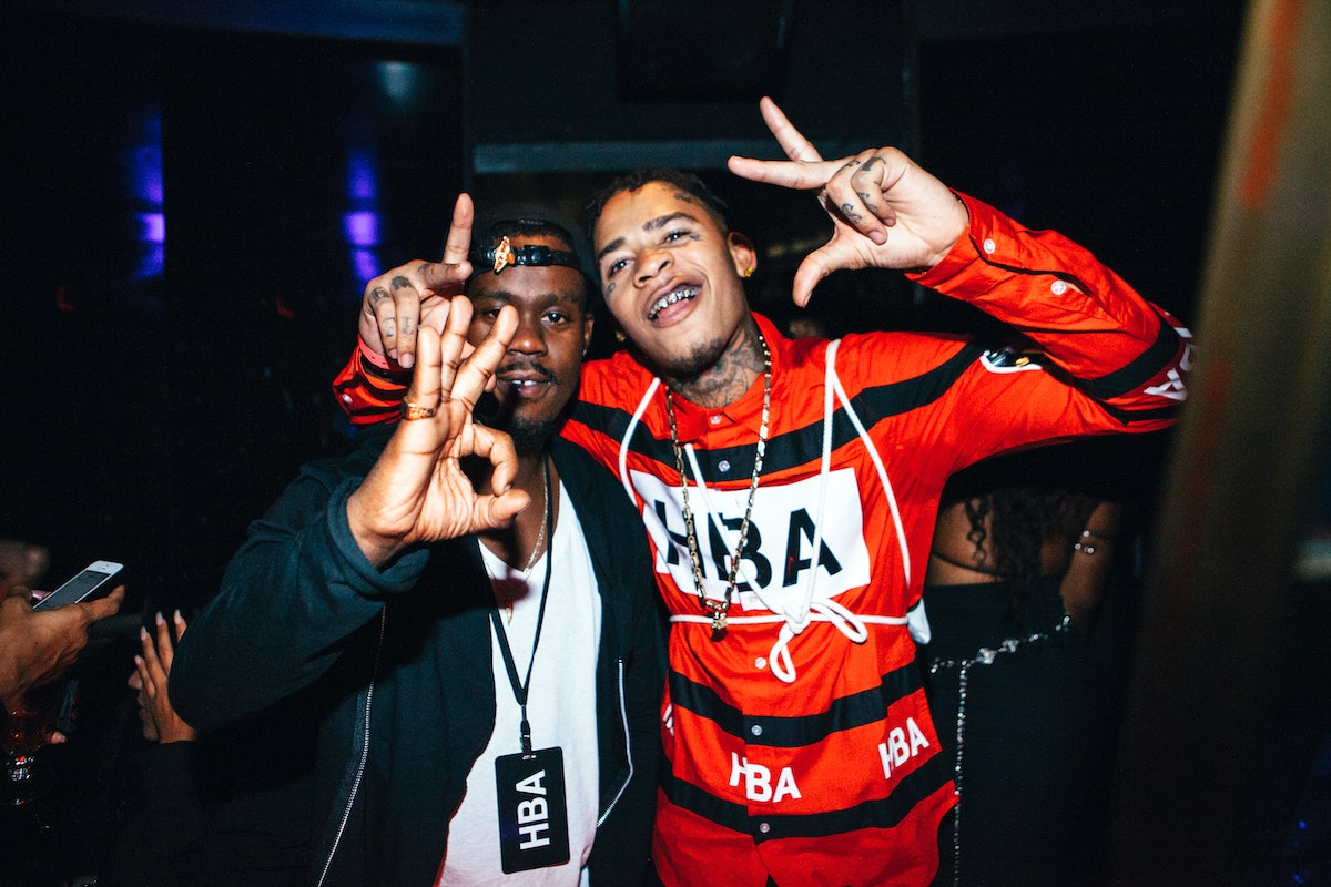 HBA GALVANIZE x GHE20G0TH1K after party