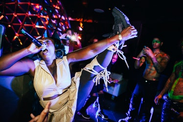 Spice performs during HBA GALVANIZE x GHE20G0TH1K after party