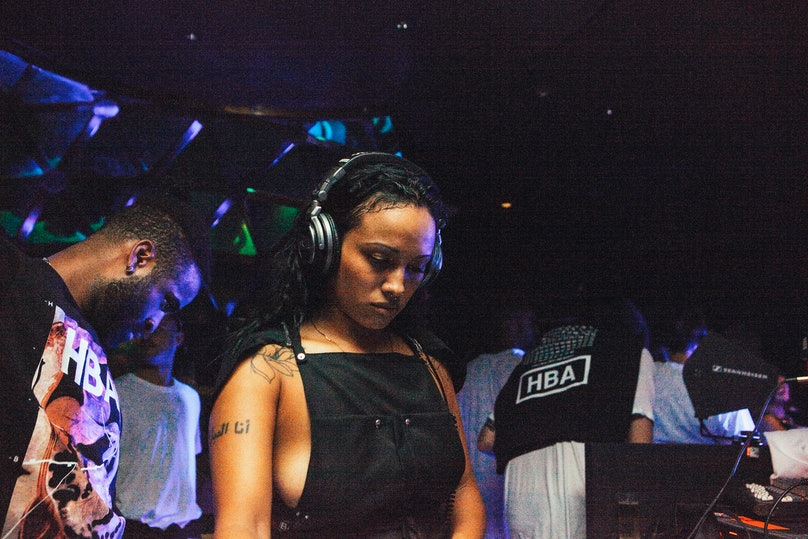Venus X at the HBA GALVANIZE x GHE20G0TH1K after party
