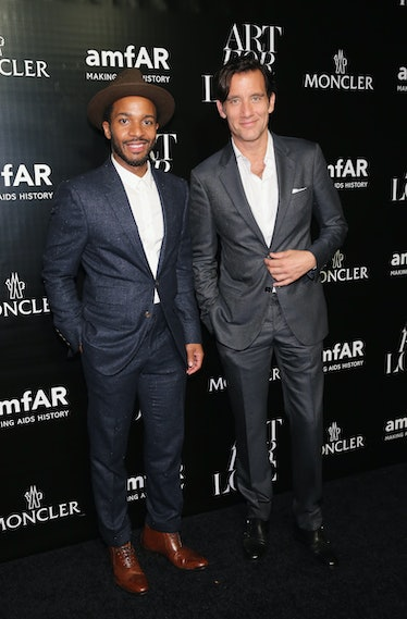 Andre Holland and Clive Owen