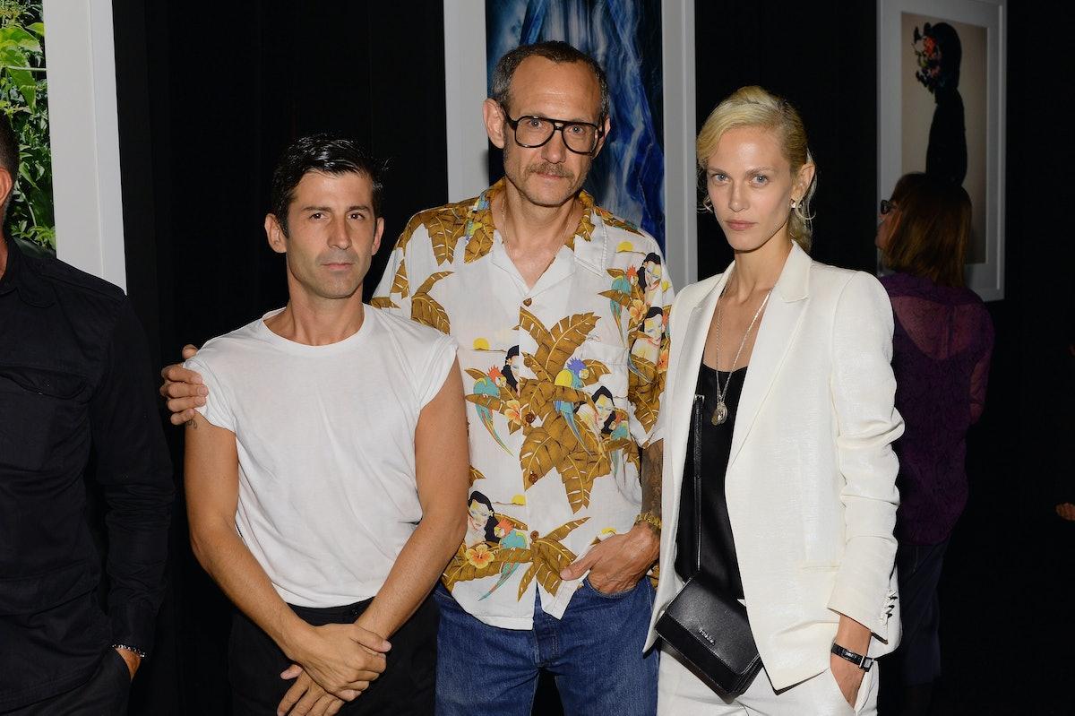 Andre Saraiva, Terry Richardson, and Aymeline Valade