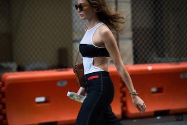 New York Fashion Week Street Style, Day 4