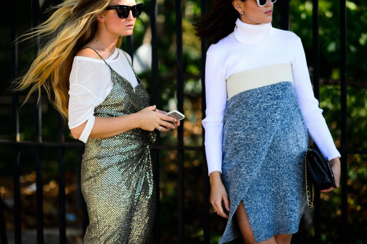 New York Fashion Week Street Style, Day 5