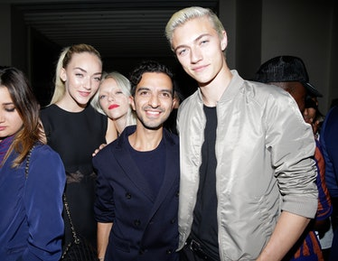Daisy Clementine, Pyper America, Imran Amed, and Lucky Blue Smith