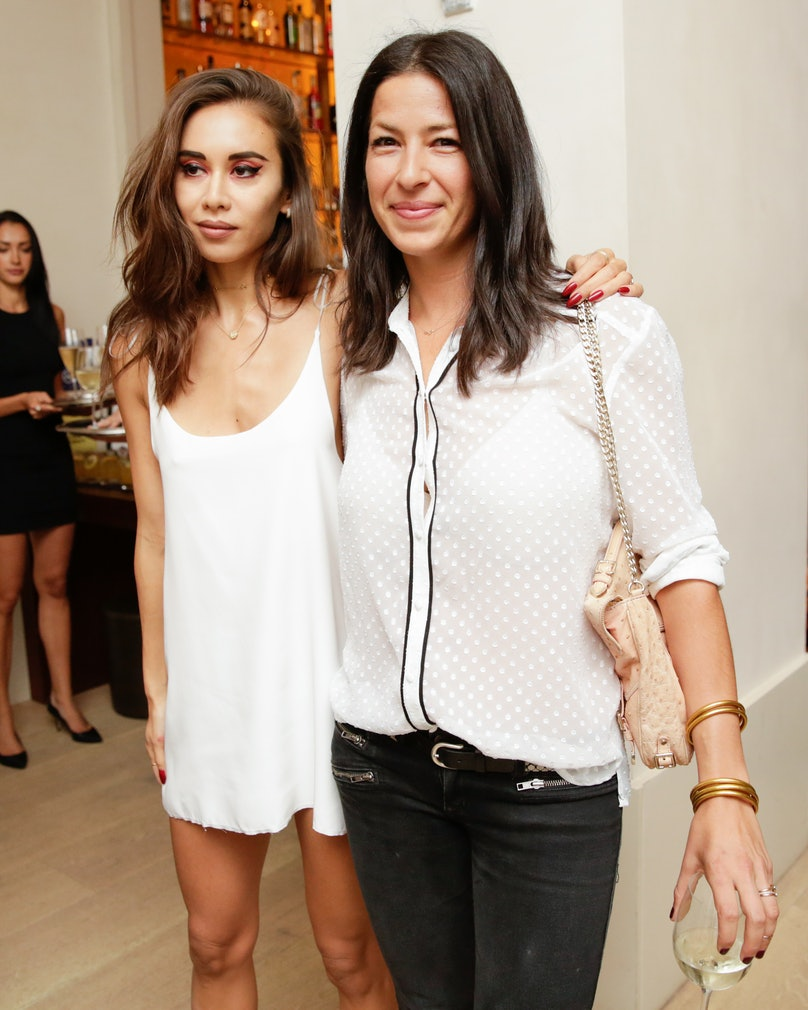 Rumi Neely and Rebecca Minkoff